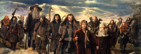 The cast of The Hobbit