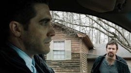 Jake Gyllenhaal and Hugh Jackman in Prisoners
